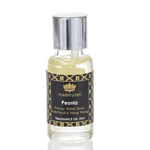 PEONIA - Signature Scented Fragrance Oil Made By Zen 15ml